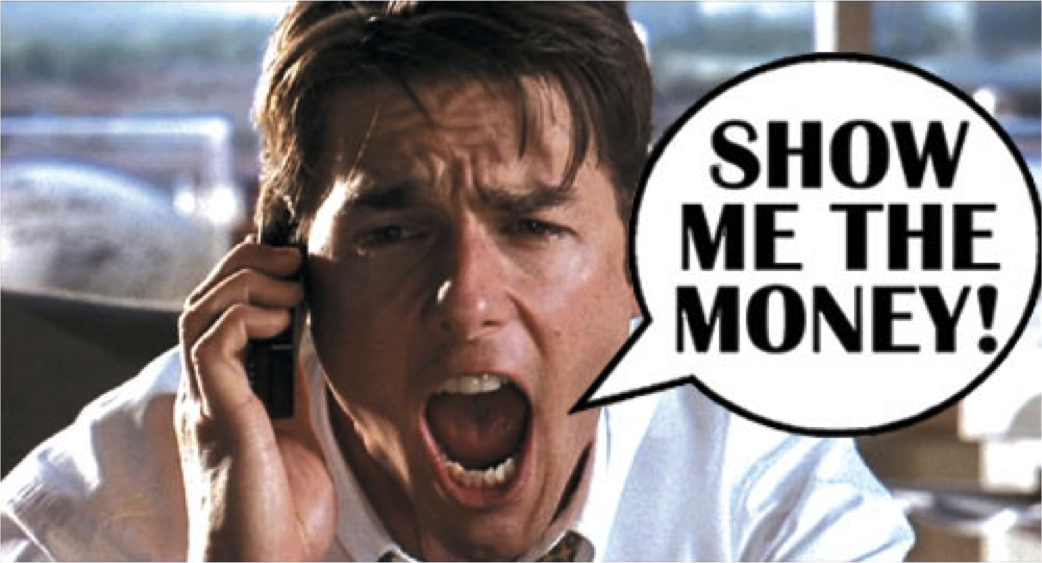 Tom Cruise Quotes: Show Me The Money: Jerry Maguire On How To Build Customer